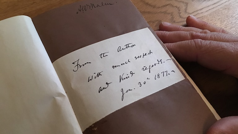 """""""From the Author with much respect and kind regards. Jan 30th 1877"""""""