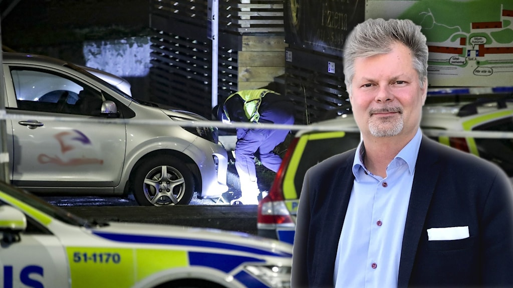 polisundersökning efter dödsskjutning i Göteborg