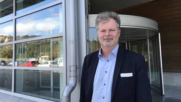 Axel Josefson, moderat ordförande i kommunstyrelsen.
