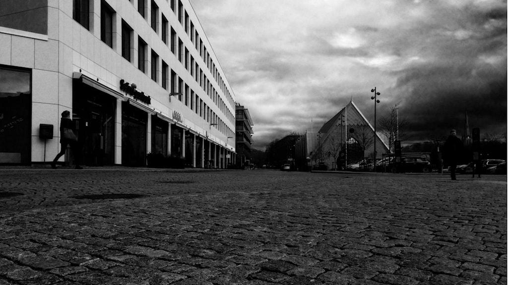 Rosenlundsgatan mörk