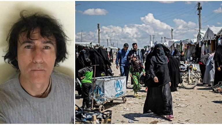Patricio Galvéz  vill att hans sju barnbarn ska få lämna lägret al-Hol i Syrien.