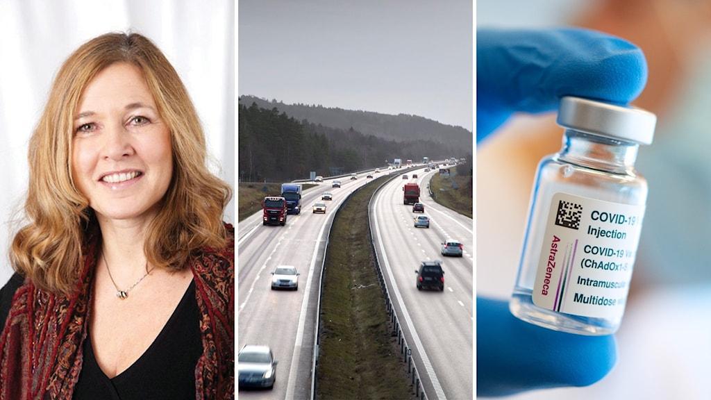 Karin Hesselgard och vaccinering