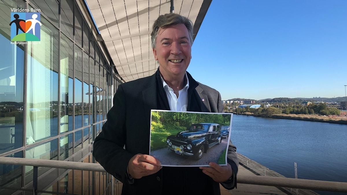 Sören Nyeboe, chef för Volvo Museum i Göteborg.