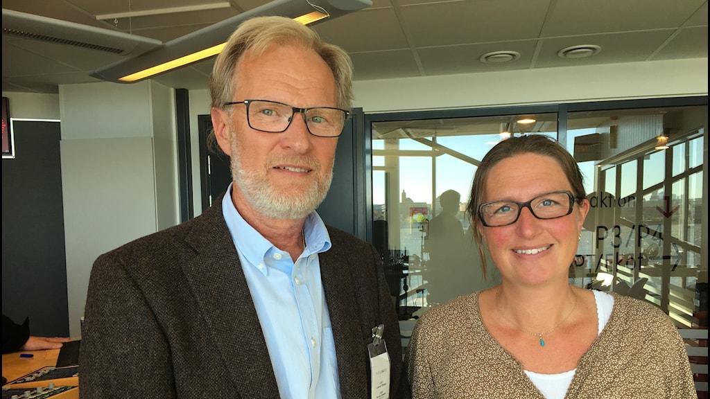 Lennart Fällberg  och Ulrika Beckman