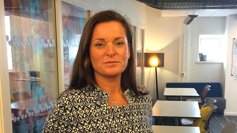 Åsa Fröding förbundschef Tolkförmedling Väs