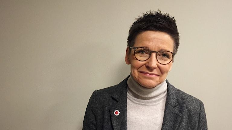 Socialdemokraten Ann-Sofie Hermansson.
