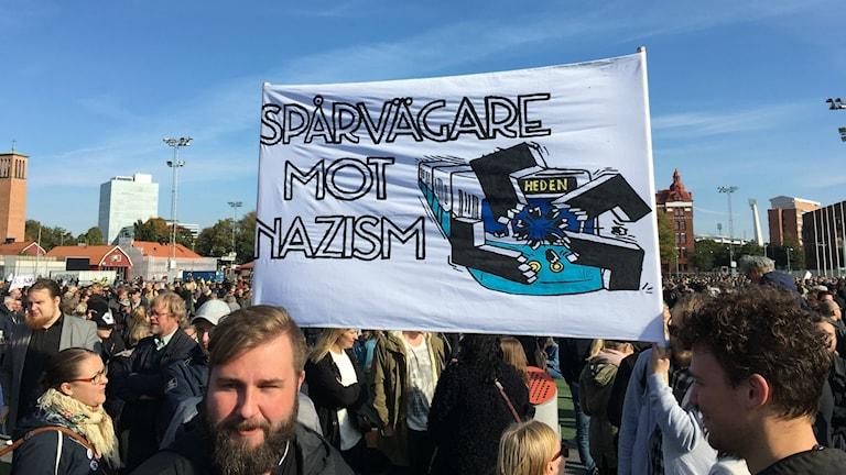 Motdemonstrationer på Heden