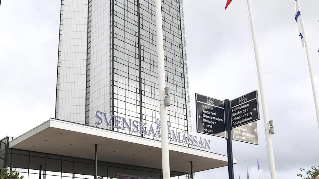 Svenska mässan i Göteborg, exteriör