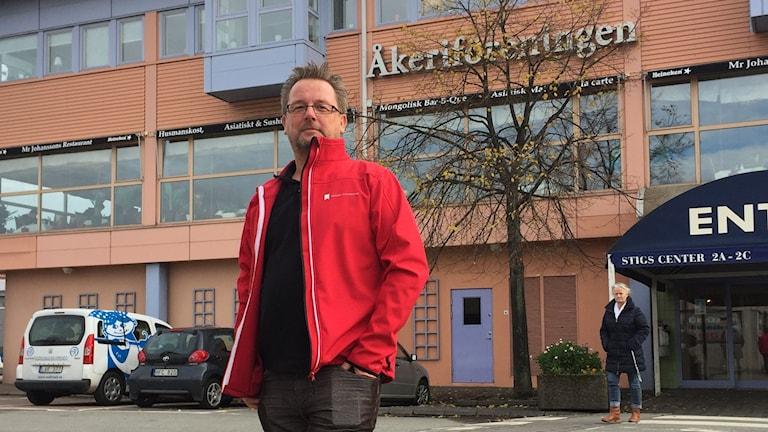 Dennis Bergsman Sveriges Åkeriföretag Väst