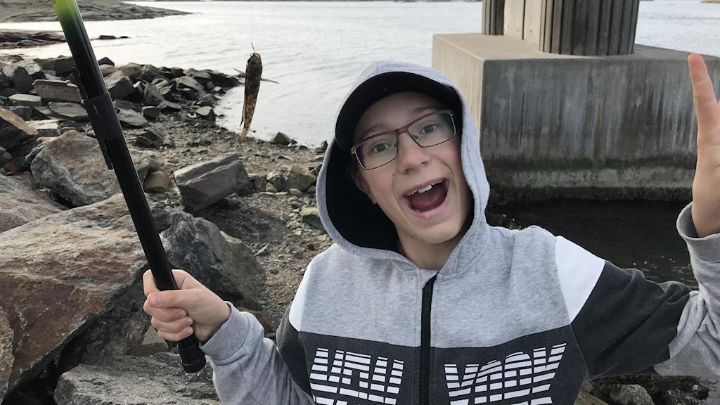 Alex Nilsson och en smörbult