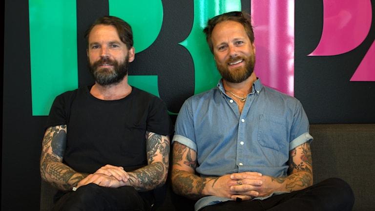 Två av medlemmarna i Bristol fashion