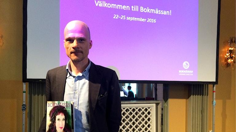Bokmässans programchef Daniel Levin om årets tema.