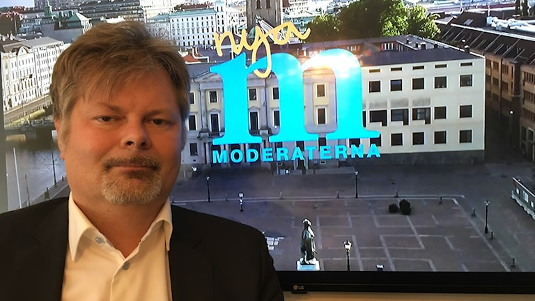 Axel Josefson, vice ordförande i göteborgsmoderaternas styrelse.
