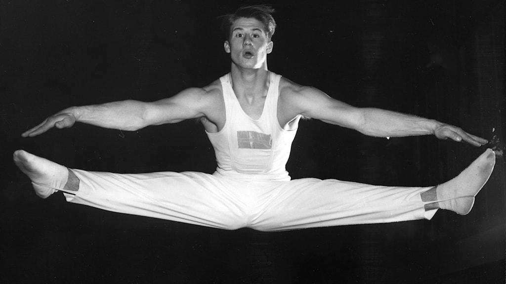 manlig gymnast