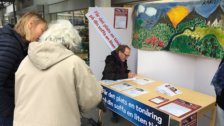 Svenska kyrkan i Partille söker frivilliga familjehem till ensamkommande. Foto: Josipa Kesic/Sveriges radio