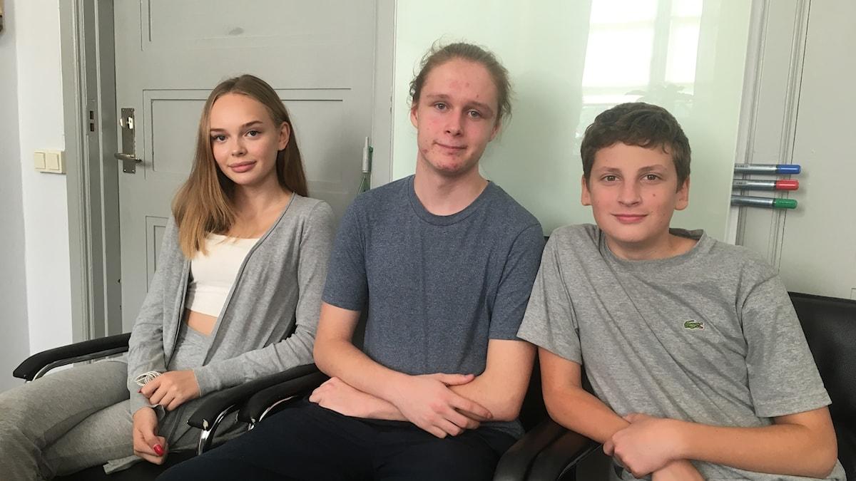 Katja, Isak och Erkki