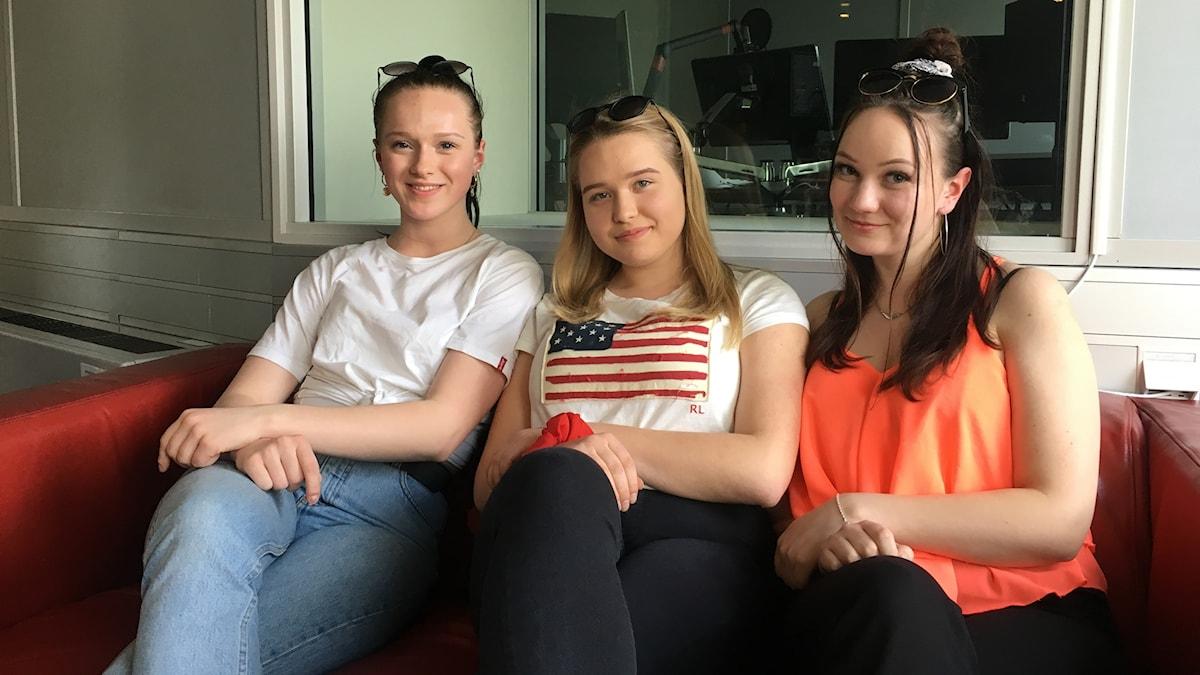 Siiri Samulin, Aada Hevosoja och Marianna Immunen