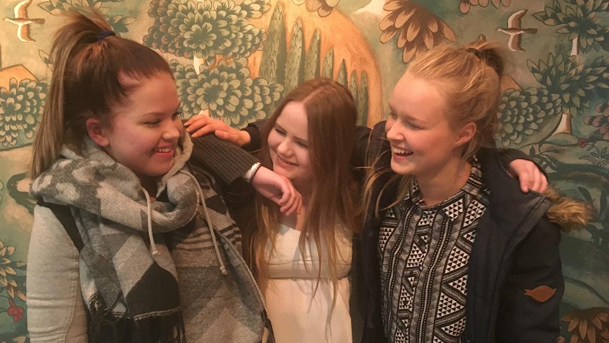 Iida Kivelä, Tanya Rohde Nielsen ja Iida Kujala