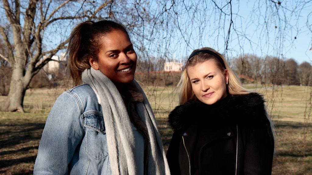 Annabel Aroka ja Anna Viitajylhä