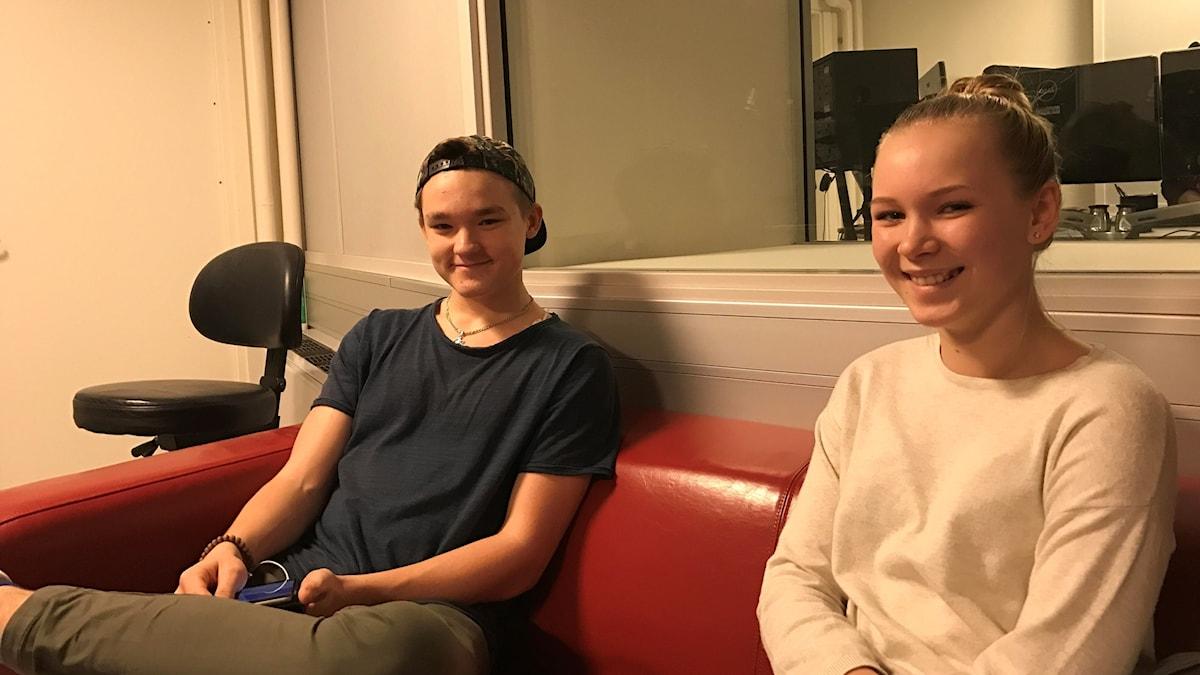 Joonatan Ryyti ja Emilie Nielsen