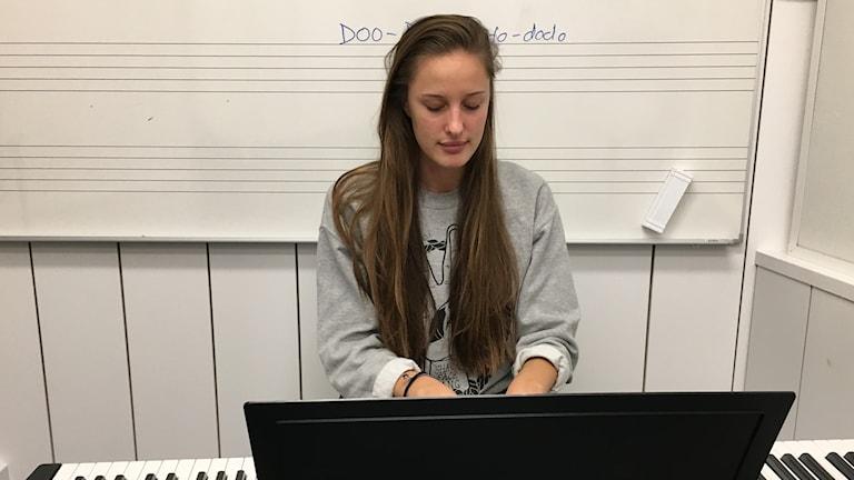 Rytmus, Sofia Kornesjö, elev, musik
