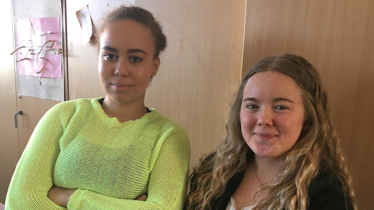 Sofia och Nadine