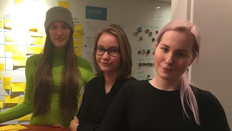 Sofia Konresjö, Ann-Sofie och Wilma Tukonen