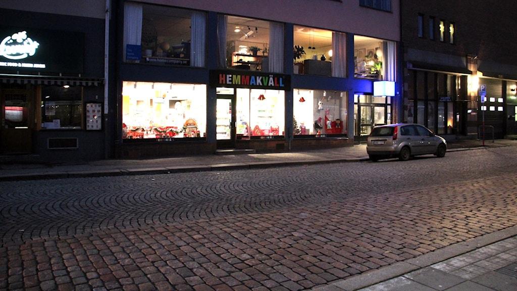 En bild på fasaden till Hemmakväll