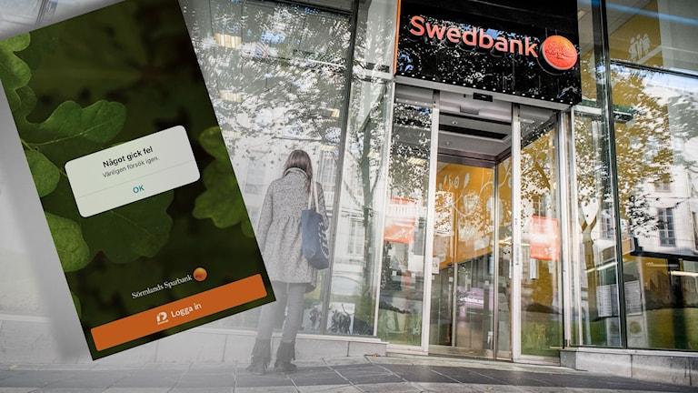 Swedbank på väg lösa stor driftstörning.