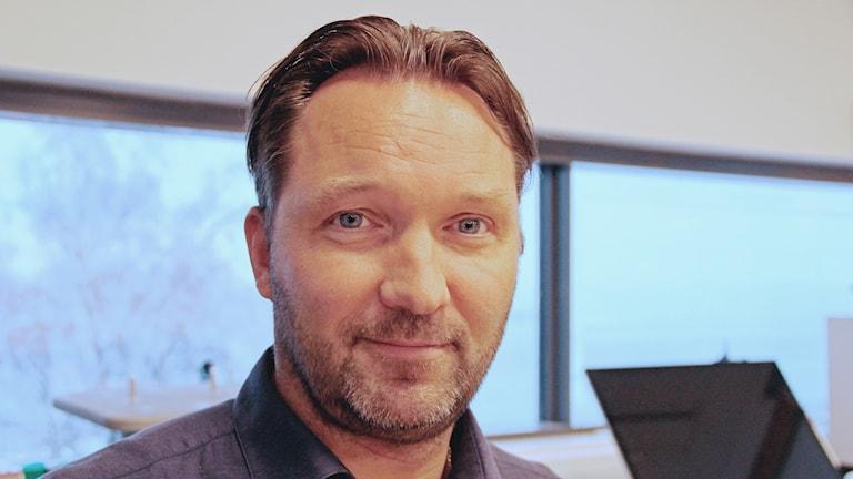 Tobias Larsson, ordförande i KHK.