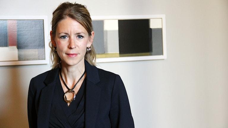 En porträttbild på Carolina Sandekjer, advokat.
