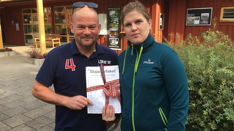 fiske mörrum premiär lax Kronolaxfisket Ulrik Thomasson Ida-Maria Rigoll platschef