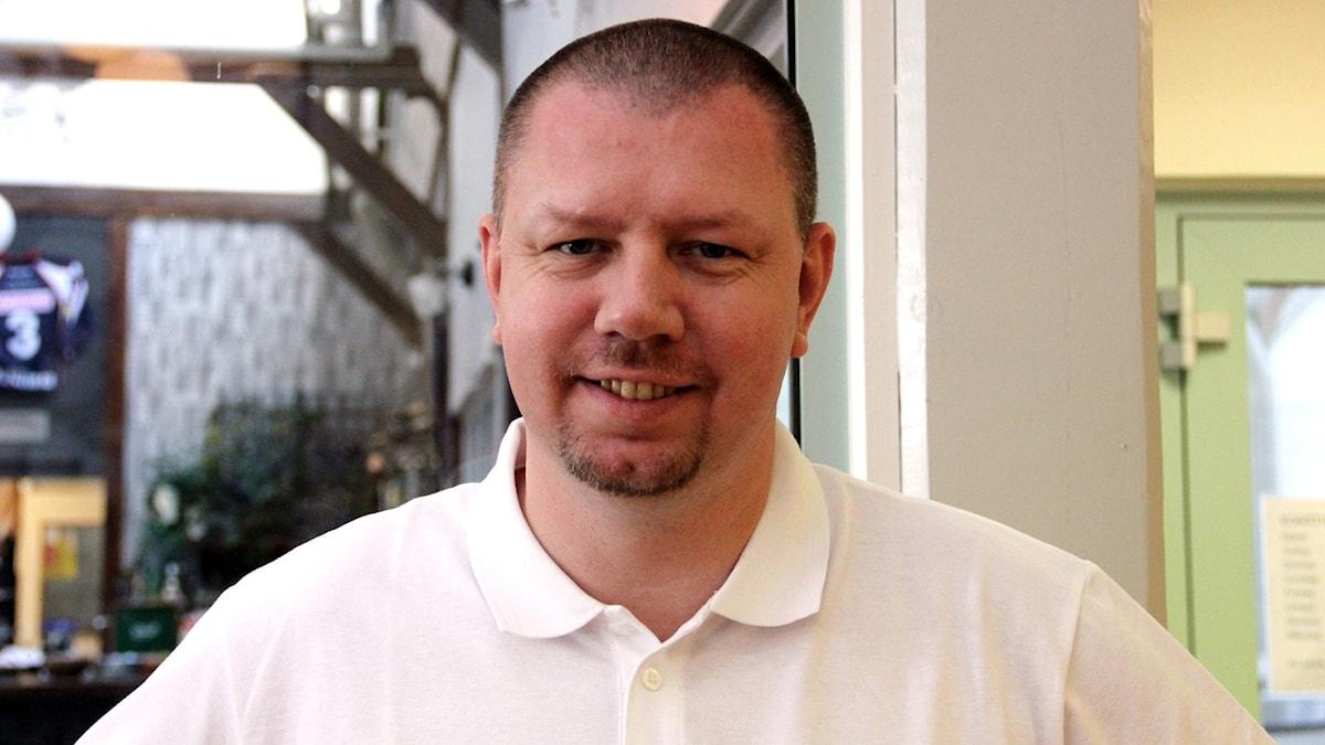 Roger Fredriksson från Moderaterna i Ronneby. Foto: Åsa Holst/Sveriges Radio