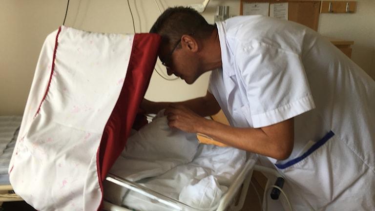 Magnus Ljungcrantz verksamhetschef neonatal