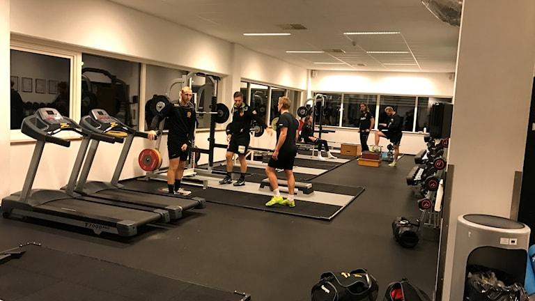 träning på health arena