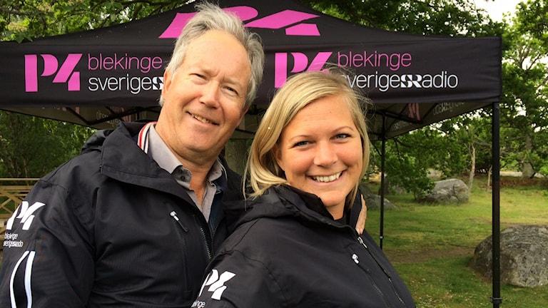Mats Andersson och Rebecka Gyllin.