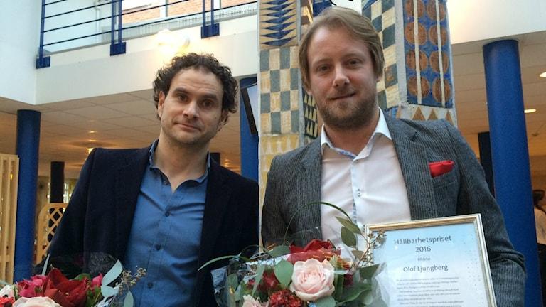 Henrik Lövgren och Olof Ljungberg