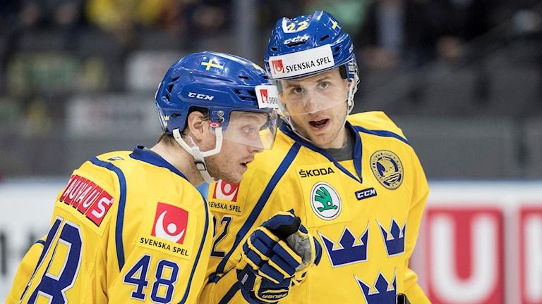 Bergström vid förra årets Sweden Hockey Games.