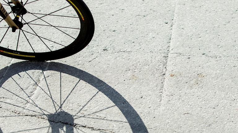 ett cykeldäck