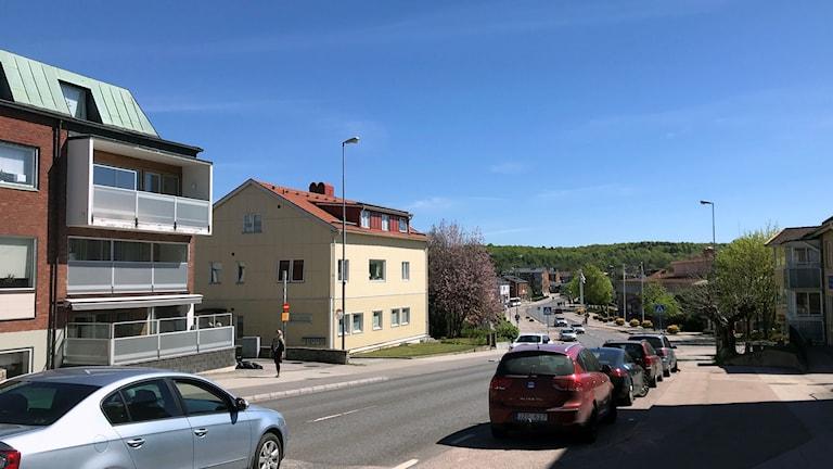 Östra Storgatan i Olofström.