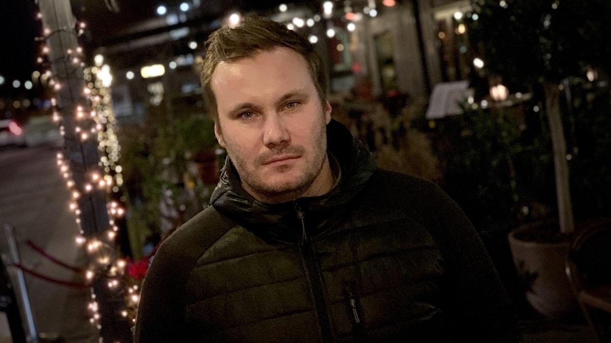 Krögaren Fredrik Berg.