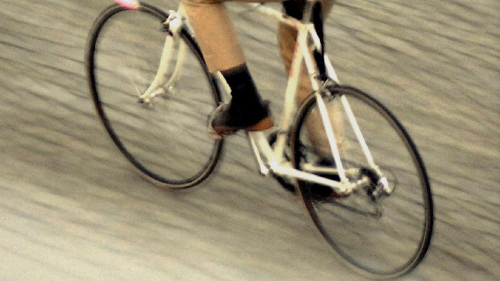 Cyklist. Foto: Hasse Holmberg/Scanpix.
