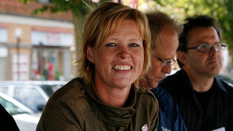 Helene Björklund. Foto: Peder Broberg/Sveriges Radio Blekinge.