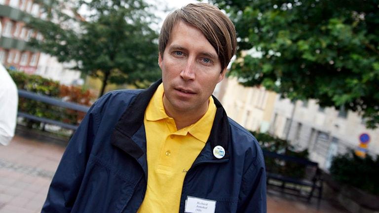 Rickard Jomshof. Foto: Peder Broberg/Sveriges Radio Blekinge.