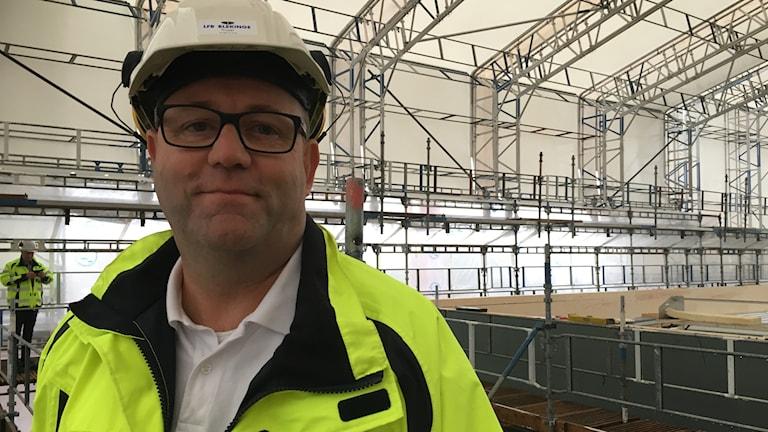 byggprojektledare Per-Olof Gustavsson