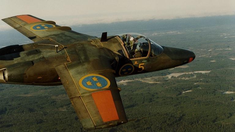 Svenska försvarets flygplan SK 60