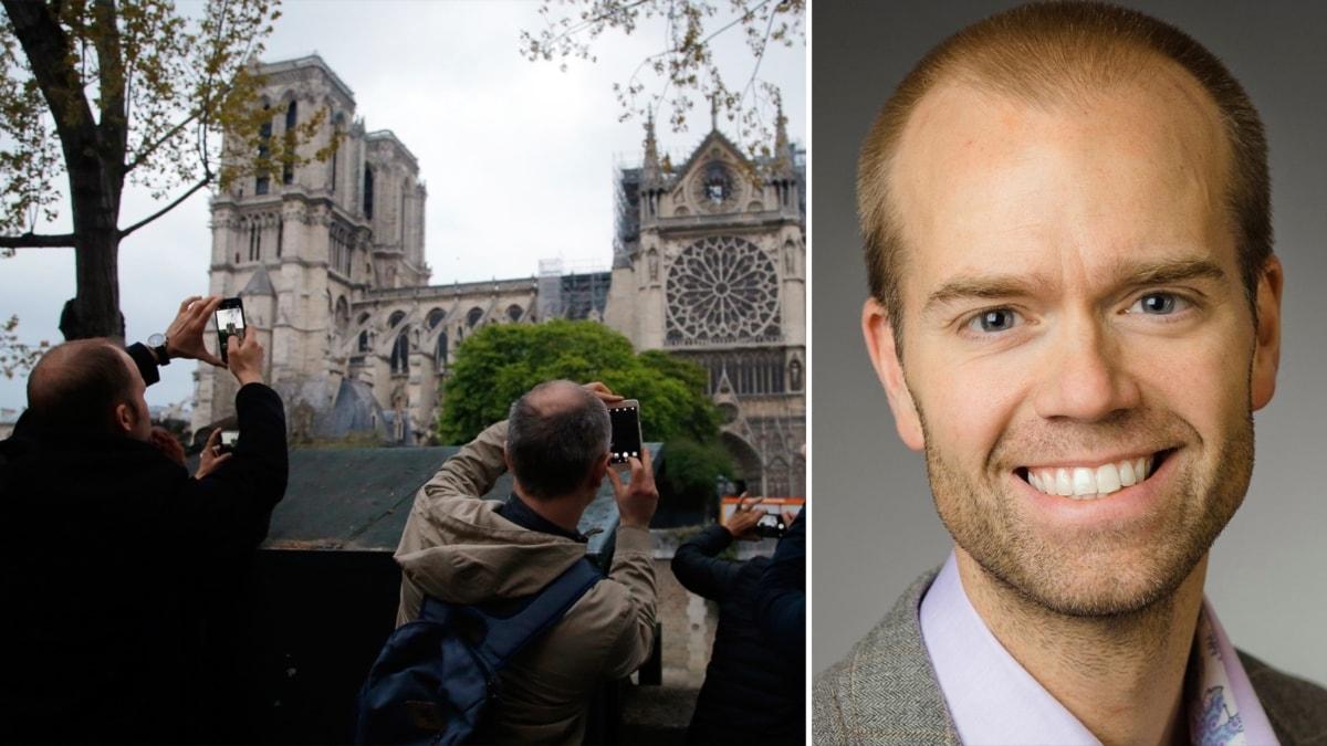 Psykologen Mattias Lundberg hjälper oss att reda ut varför branden i Notre-Dame engagerar.