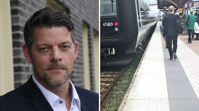 Andreas Almqvist är vd för Hallandstrafiken