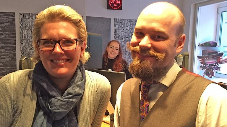 Anna Svahn och Henrik Harrysson