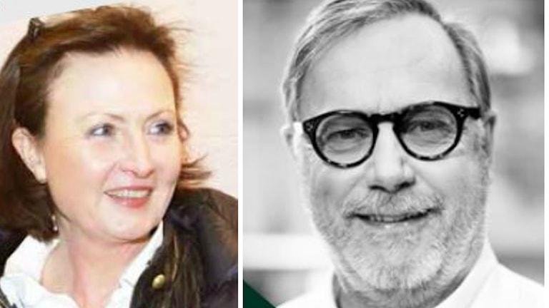 Alice Åkerblom och Sven Melander